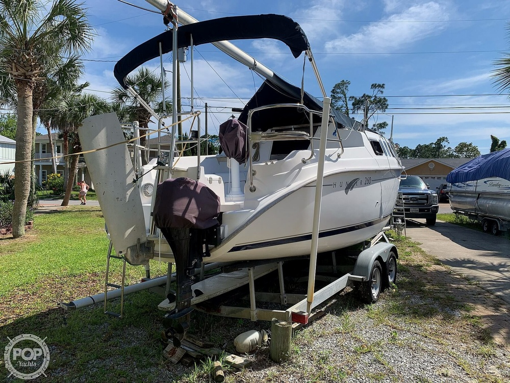 2002 Hunter boat for sale, model of the boat is 260 & Image # 11 of 40