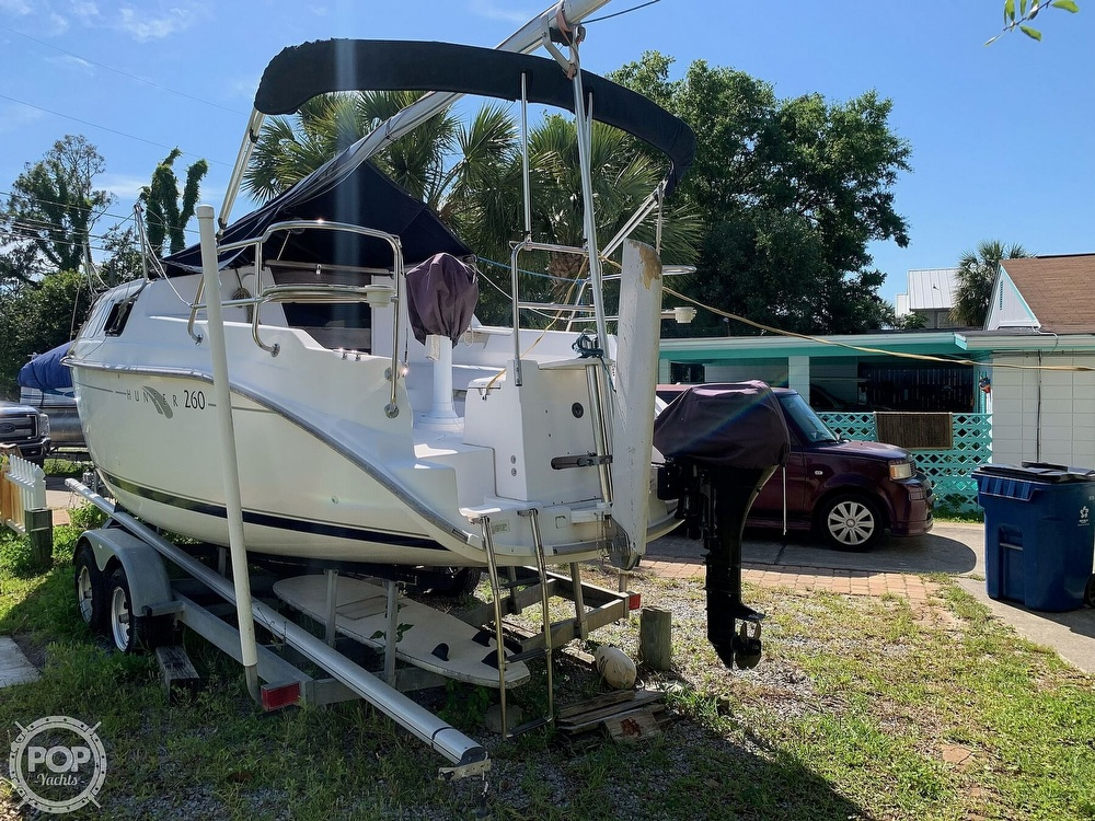 2002 Hunter boat for sale, model of the boat is 260 & Image # 13 of 40