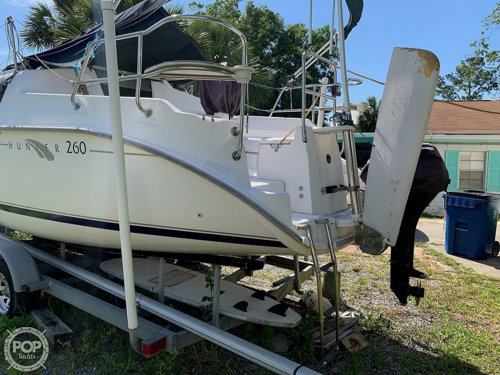 2002 Hunter boat for sale, model of the boat is 260 & Image # 14 of 40