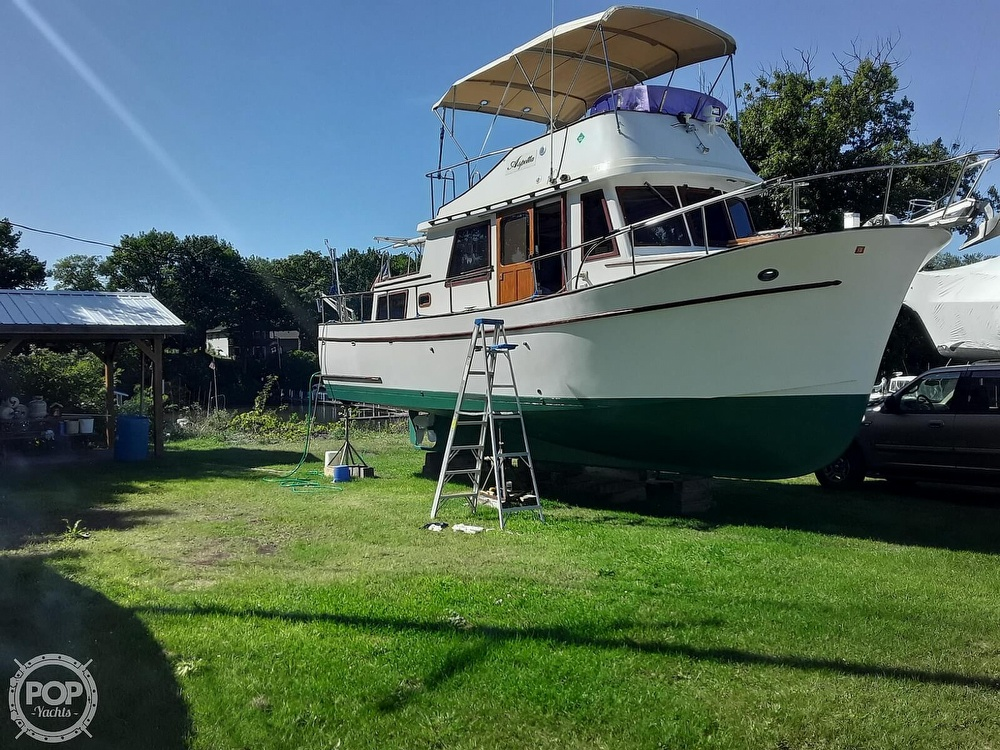 1977 Marine Trader boat for sale, model of the boat is Trawler 34 & Image # 2 of 10