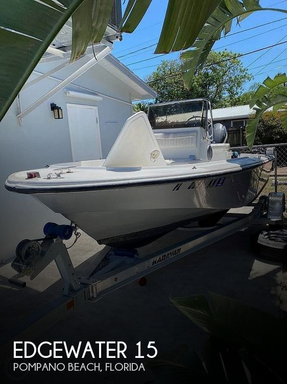 Used Edgewater Boats For Sale by owner | 1998 Edgewater 15