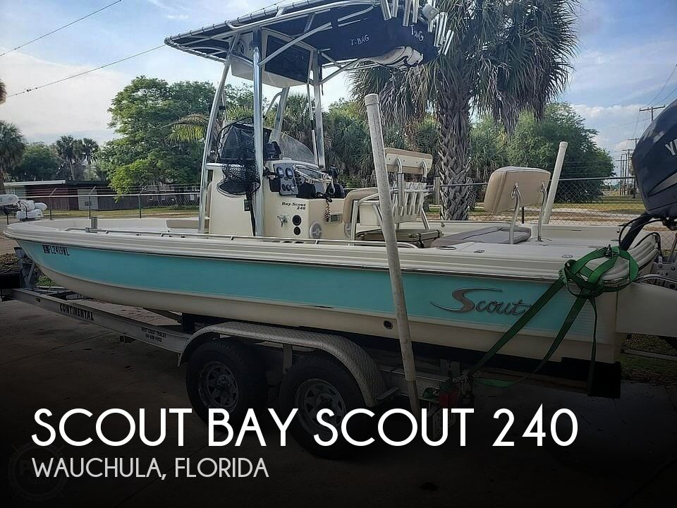 Used Scout Boats For Sale by owner | 2007 Scout Bay Scout 240
