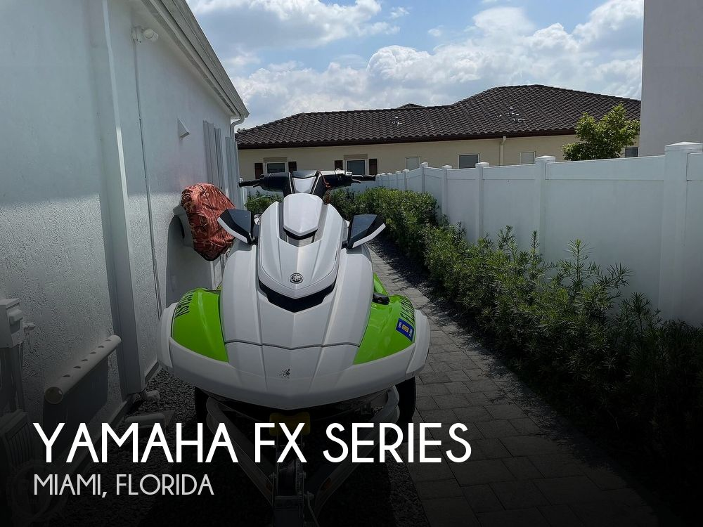 2021 YAMAHA FX SERIES for sale