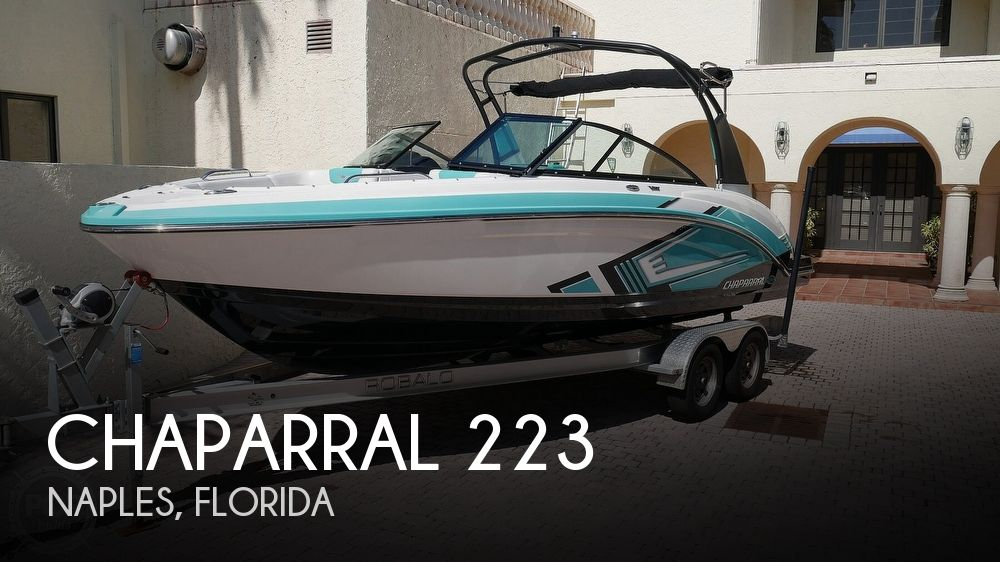 2015 Chaparral boat for sale, model of the boat is 223 Vortex & Image # 1 of 40