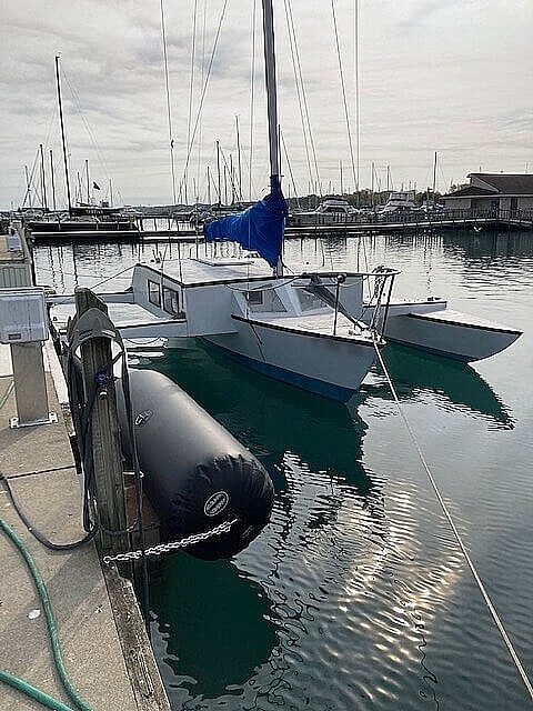 1978 Piver Trimaran boat for sale, model of the boat is Custom built 26 & Image # 2 of 2