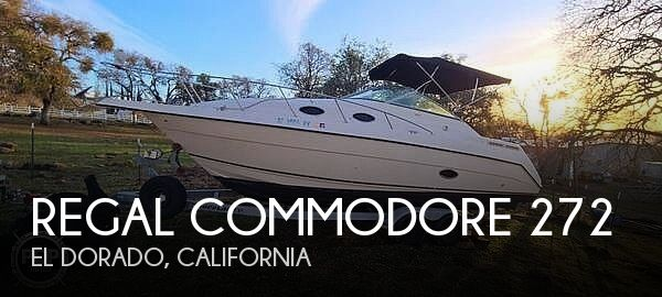 Used Regal 27 Boats For Sale by owner | 1997 Regal commodore 272
