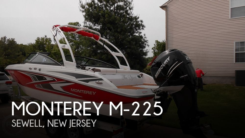 2019 Monterey boat for sale, model of the boat is M-225 & Image # 1 of 40