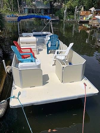 2005 Fiesta boat for sale, model of the boat is Grande 24 Family Fisher Fish & Fun L Custom & Image # 12 of 40