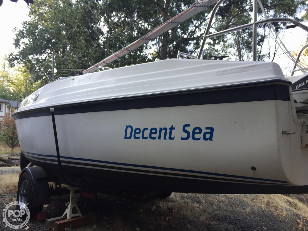 1990 Macgregor boat for sale, model of the boat is 26 & Image # 6 of 32