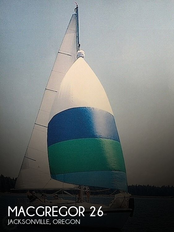 1990 Macgregor boat for sale, model of the boat is 26 & Image # 1 of 32