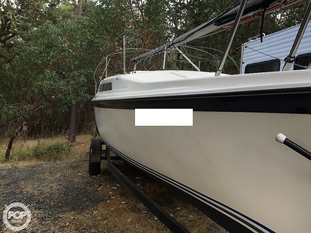 1990 Macgregor boat for sale, model of the boat is 26 & Image # 11 of 32