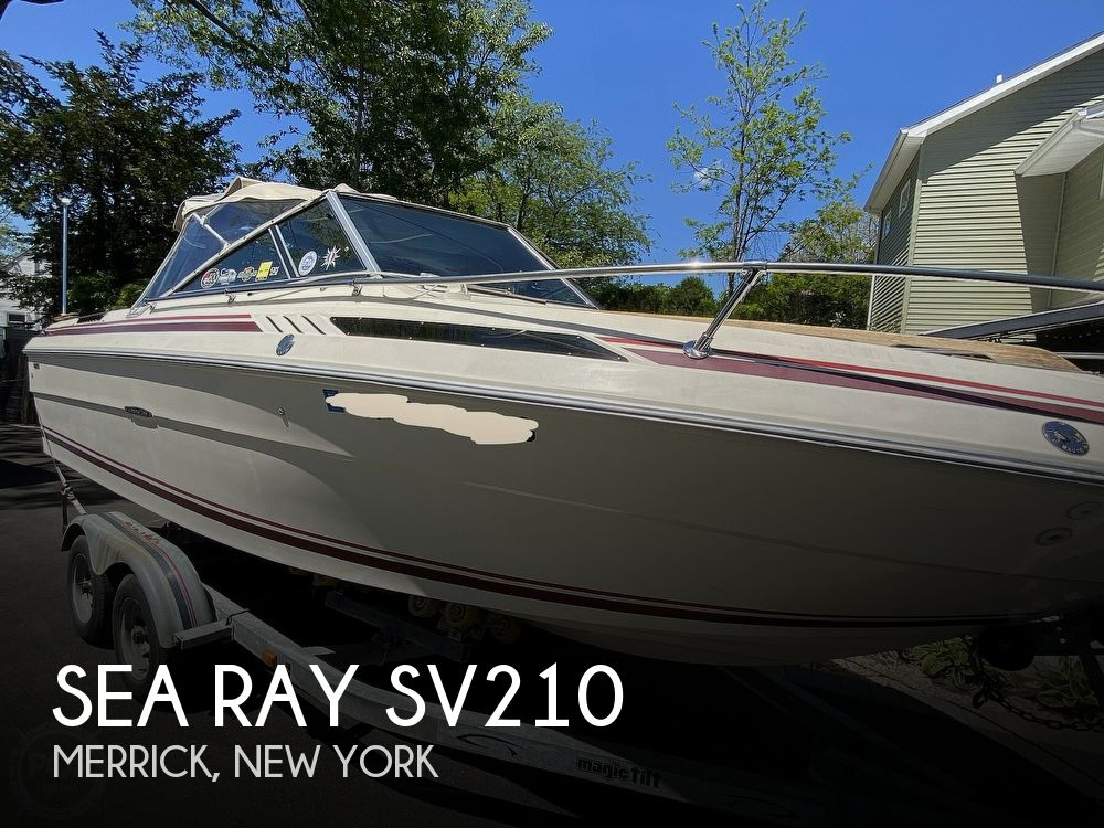 1983 Sea Ray boat for sale, model of the boat is SV210 & Image # 1 of 40