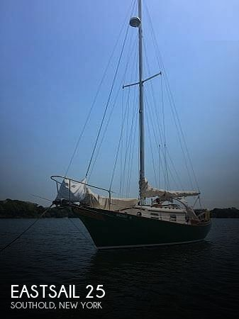 1985 Eastsail boat for sale, model of the boat is 25 & Image # 1 of 6