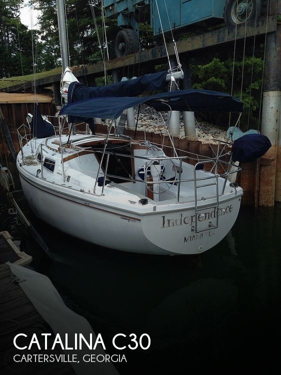 Used Catalina Sailboats For Sale in Georgia by owner | 1979 Catalina C30