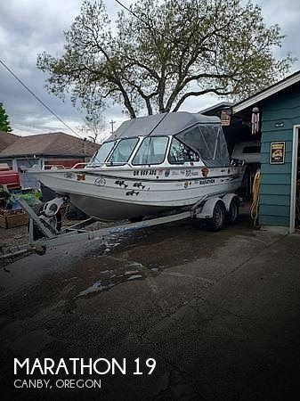 Used Marathon Boats For Sale by owner | 2003 Marathon 19 Jet Boat