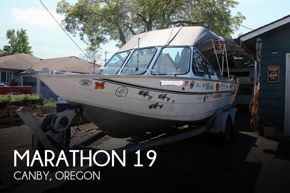 2003 Marathon boat for sale, model of the boat is 19 Jet Boat & Image # 1 of 40