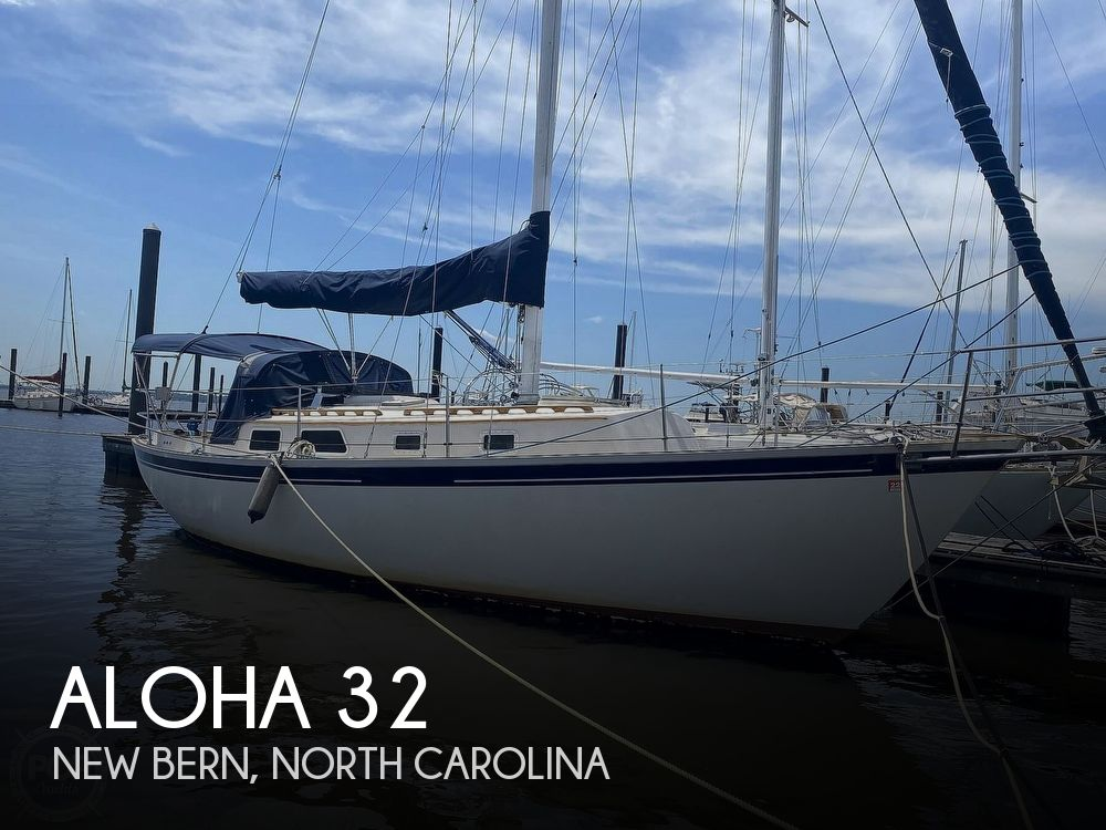 1986 Aloha Pontoons boat for sale, model of the boat is 32 & Image # 1 of 40