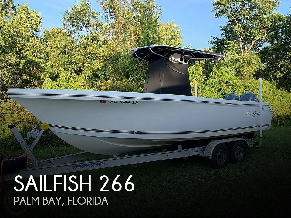 Used Sailfish Boats For Sale by owner | 2002 Sailfish 266