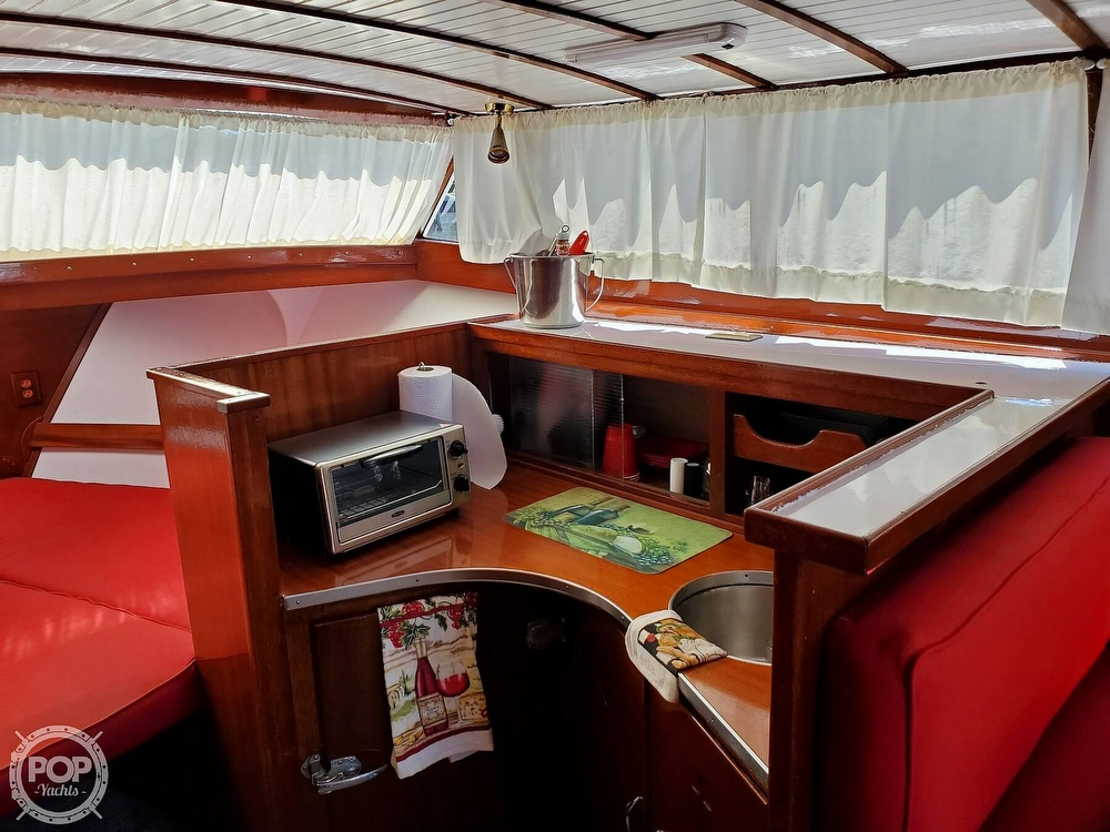 1961 Chris Craft boat for sale, model of the boat is Fly Bridge Sea Skiff & Image # 13 of 40