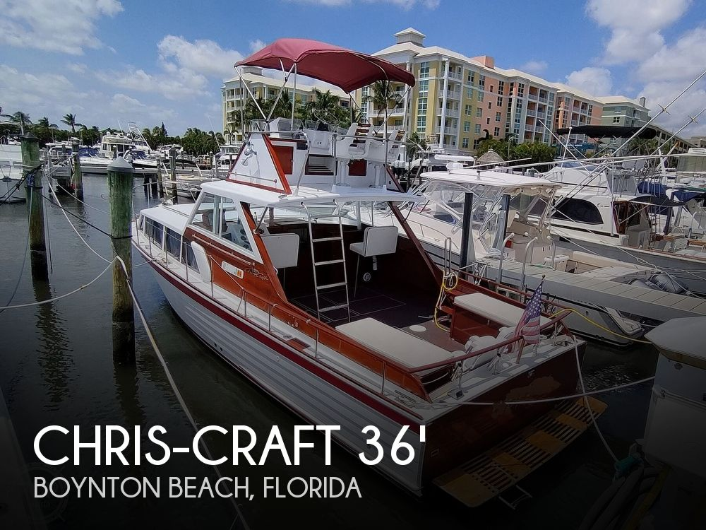 1961 Chris Craft boat for sale, model of the boat is Fly Bridge Sea Skiff & Image # 1 of 40