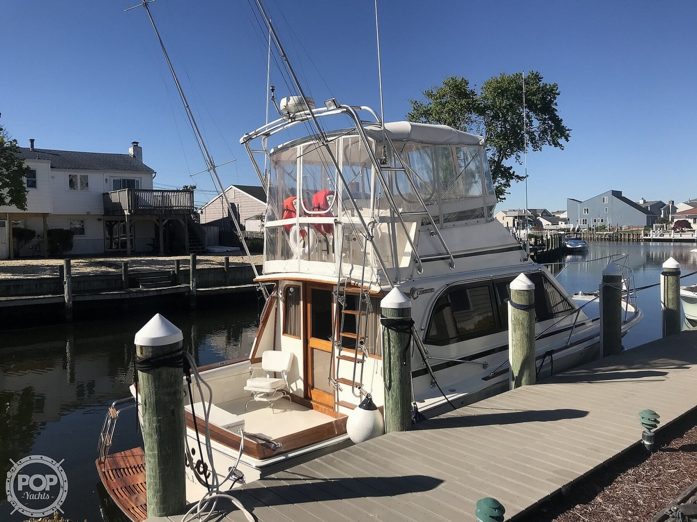 1988 Egg Harbor boat for sale, model of the boat is 33 Convertible & Image # 2 of 40