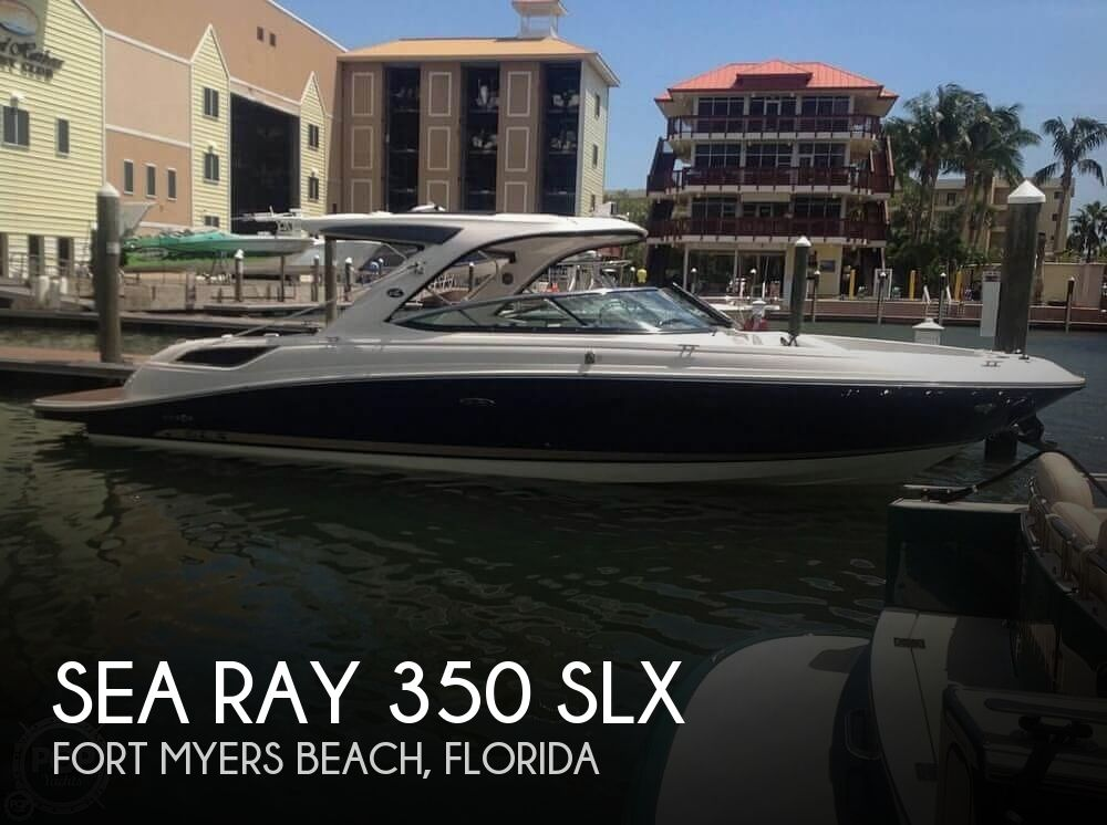 2015 Sea Ray boat for sale, model of the boat is 350 SLX & Image # 1 of 1