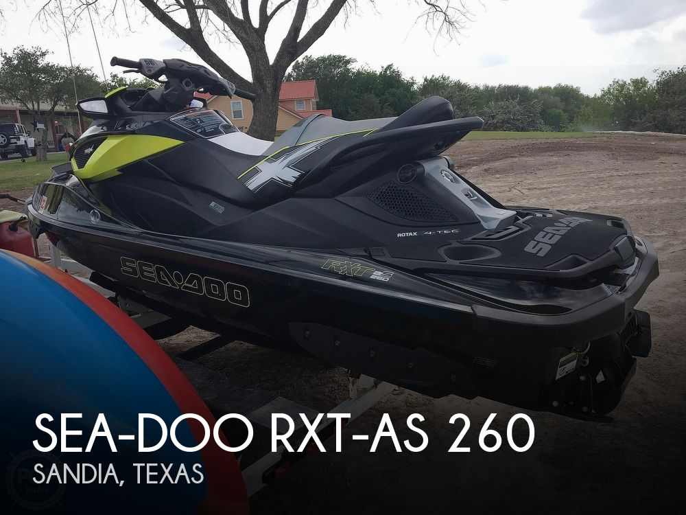 2013 SEA DOO PWC RST XAS 260 for sale