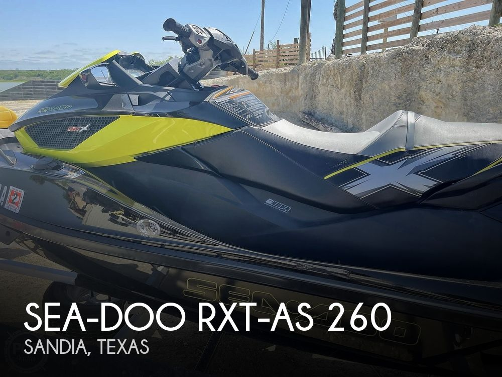 2013 SEA DOO PWC RXT AS 260 for sale