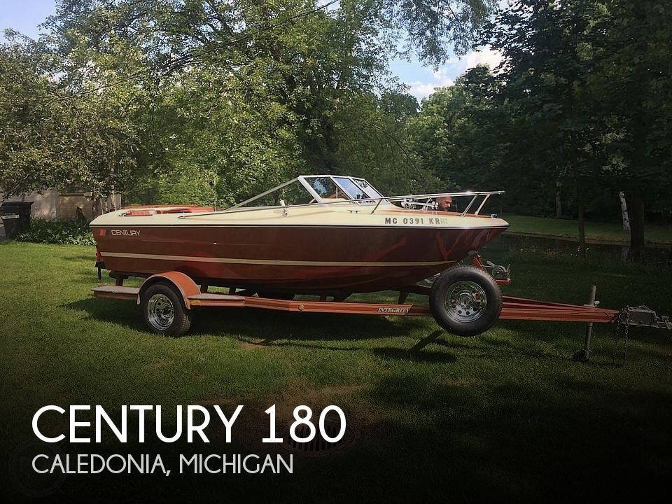 Used Century Boats For Sale in Michigan by owner   1978 Century 180