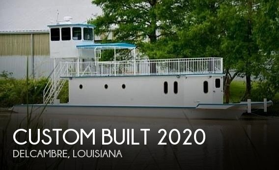 Used Houseboats For Sale by owner | 1996 Custom Built 2020 Houseboat/Deckhouse on La