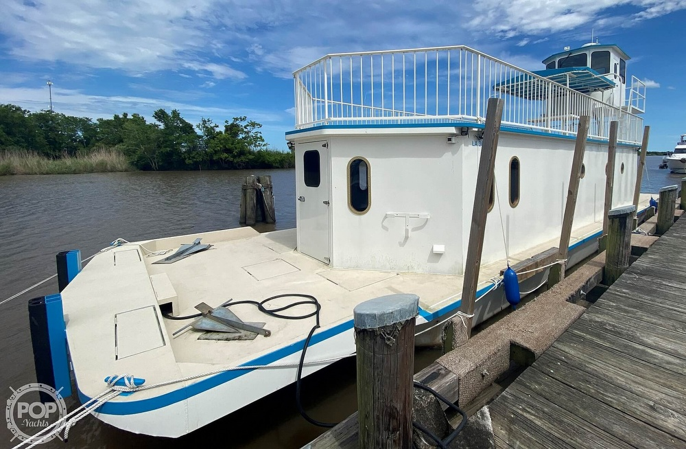 1996 Custom boat for sale, model of the boat is In 2020 Houseboat/Deckhouse on Lakeview Hull & Image # 2 of 40
