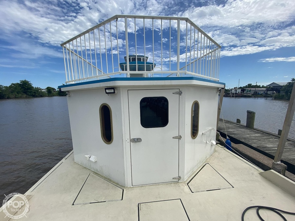 1996 Custom boat for sale, model of the boat is In 2020 Houseboat/Deckhouse on Lakeview Hull & Image # 4 of 40