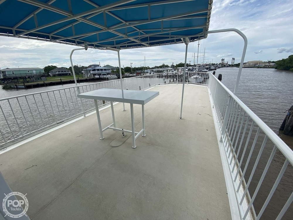 1996 Custom boat for sale, model of the boat is In 2020 Houseboat/Deckhouse on Lakeview Hull & Image # 7 of 40