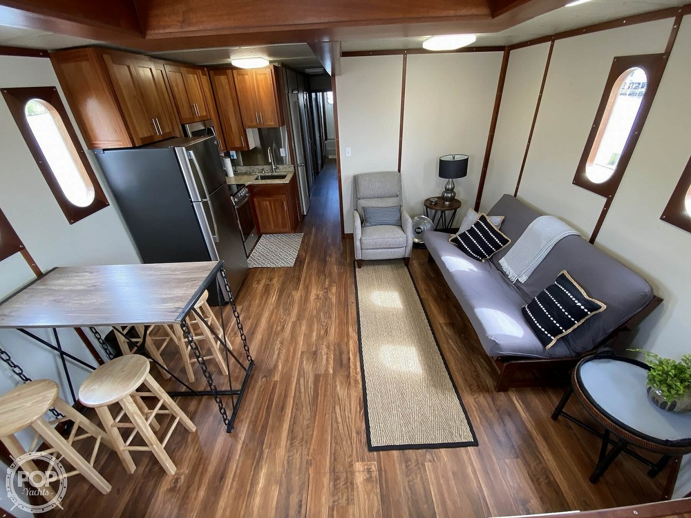 1996 Custom boat for sale, model of the boat is In 2020 Houseboat/Deckhouse on Lakeview Hull & Image # 8 of 40