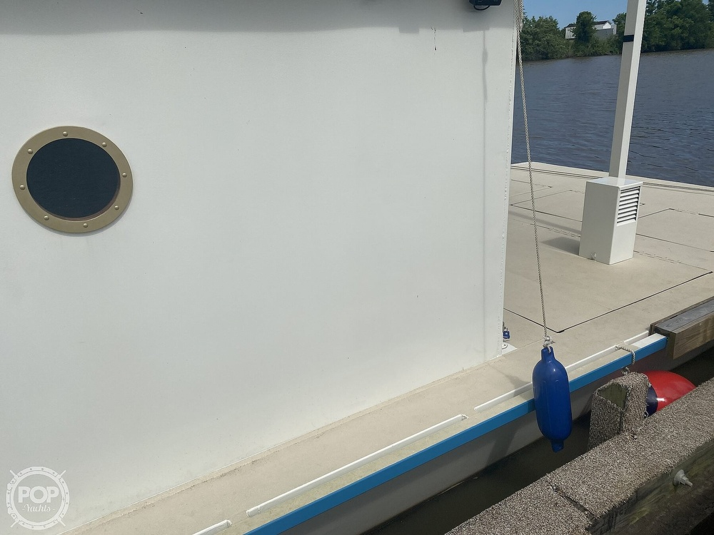 1996 Custom boat for sale, model of the boat is In 2020 Houseboat/Deckhouse on Lakeview Hull & Image # 23 of 40