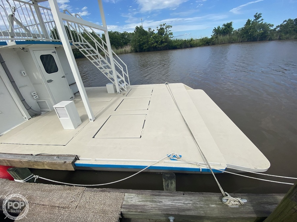 1996 Custom boat for sale, model of the boat is In 2020 Houseboat/Deckhouse on Lakeview Hull & Image # 26 of 40