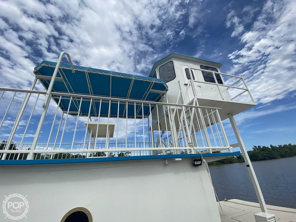 1996 Custom boat for sale, model of the boat is In 2020 Houseboat/Deckhouse on Lakeview Hull & Image # 28 of 40