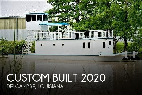 1996 Custom boat for sale, model of the boat is In 2020 Houseboat/Deckhouse on Lakeview Hull & Image # 1 of 40