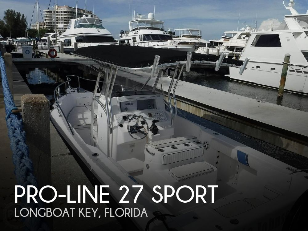 2001 Pro-Line boat for sale, model of the boat is 27 Sport & Image # 1 of 40