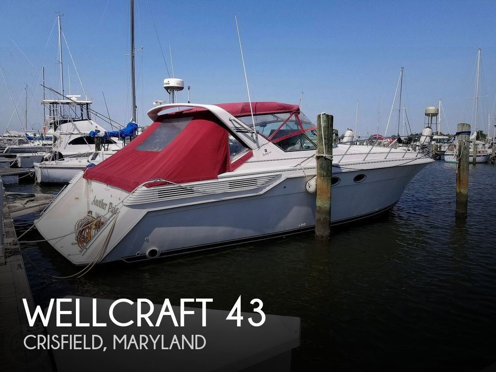Used Wellcraft Boats For Sale in Maryland by owner | 1991 Wellcraft Portofino 43