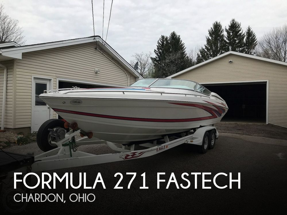 Used Boats For Sale in Erie, Pennsylvania by owner | 2001 Formula 271 Fastech