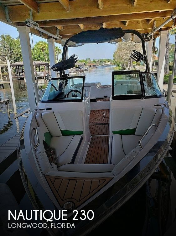 Used Ski Boats For Sale in Florida by owner | 2014 Nautique Super Air Nautique 230