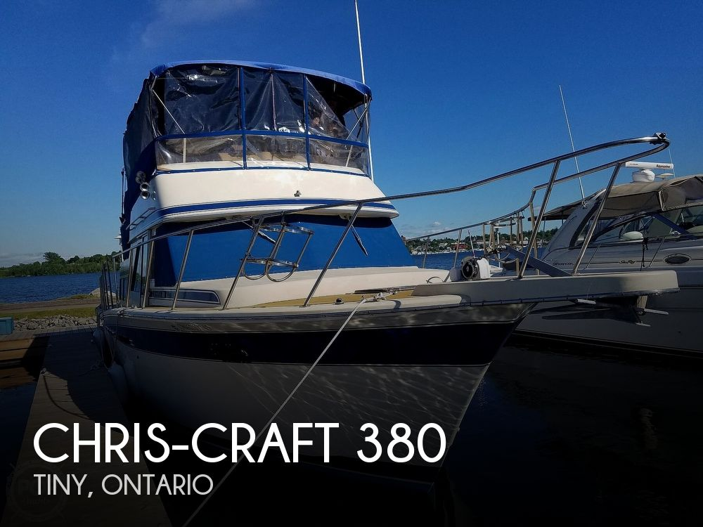 1984 Chris Craft boat for sale, model of the boat is Corinthian 380 & Image # 1 of 40