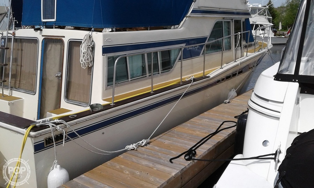 1984 Chris Craft boat for sale, model of the boat is Corinthian 380 & Image # 3 of 40
