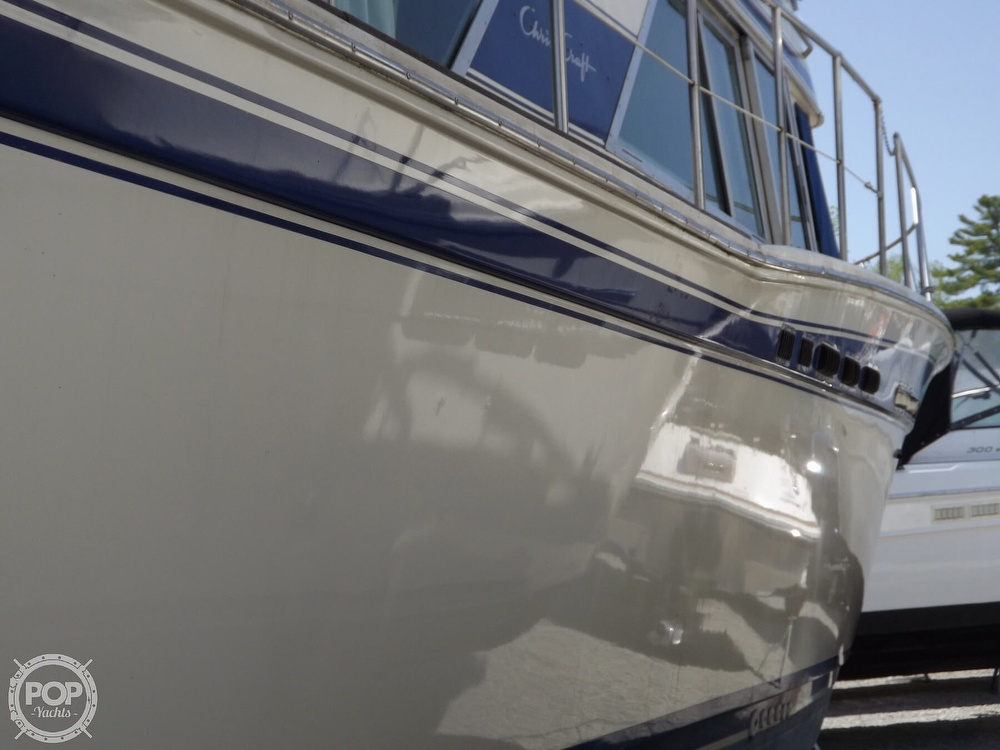 1984 Chris Craft boat for sale, model of the boat is Corinthian 380 & Image # 11 of 40