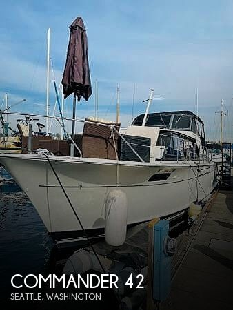 Used Motoryachts For Sale in Washington by owner | 1971 Commander 42