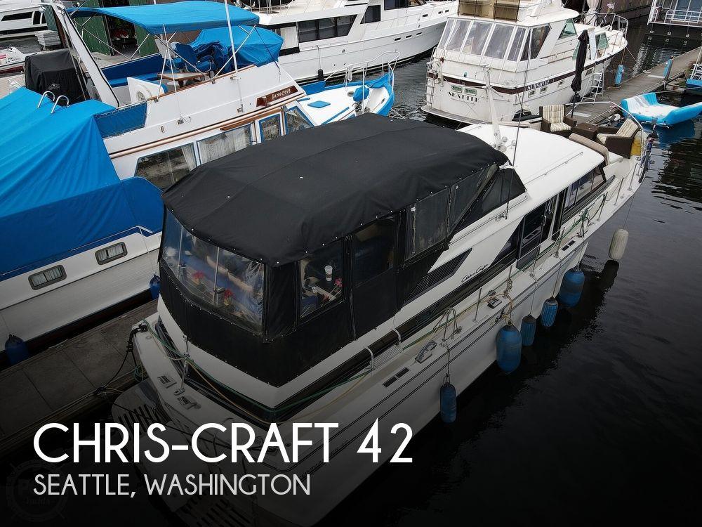 1971 CHRIS CRAFT COMMANDER 42 for sale
