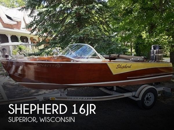 Used Power boats For Sale in Duluth, Minnesota by owner | 1958 Shepherd 16Jr