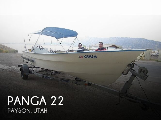 Used Panga Boats For Sale by owner   1986 Panga 22