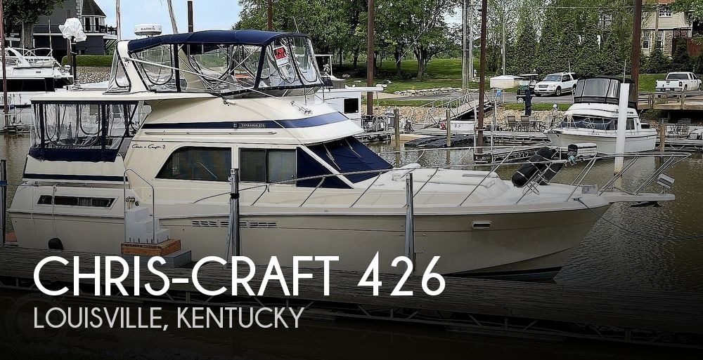 Used Boats For Sale in Louisville, Kentucky by owner | 1986 Chris-Craft Catalina 426